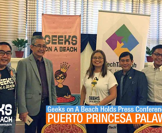 goab press conference in palawan